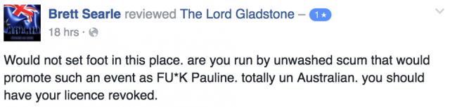 lord gladtone negative review 3