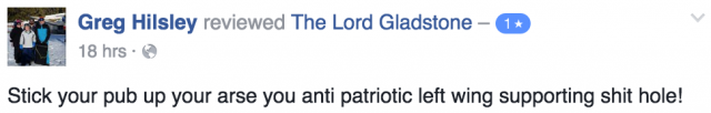 lord gladtone negative review 4