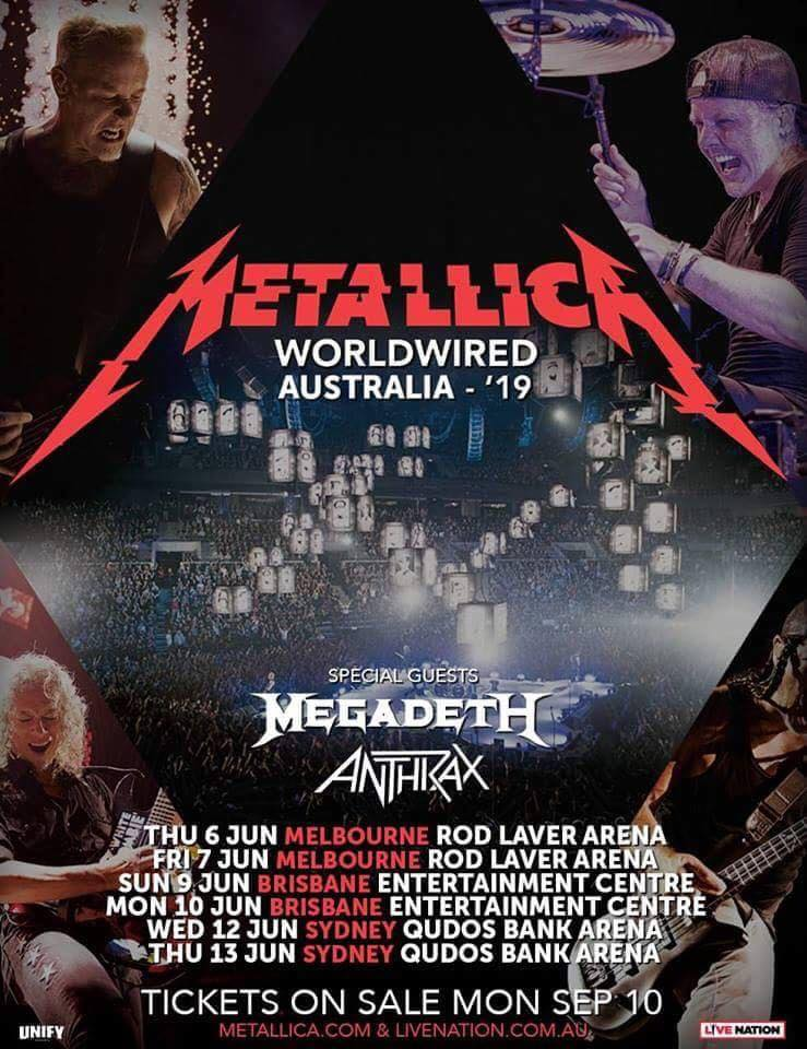Yep, That Metallica '2019 Australian Tour' Poster Is Fake