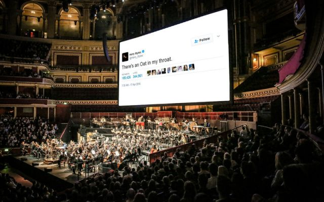 royal albert hall tweet