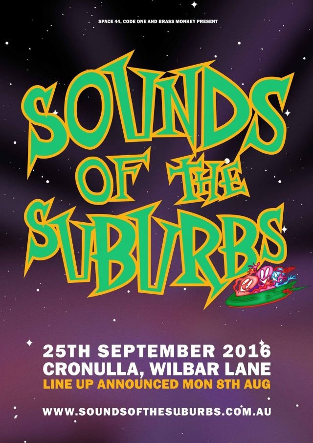 sounds of the suburbs 2016 festival poster source facebook