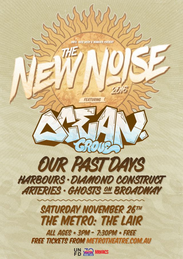 the new noise 2016 poster supplied
