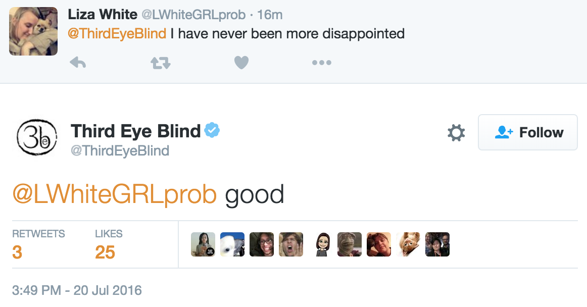 Third Eye Blind Just Used Their Own Show To Troll The
