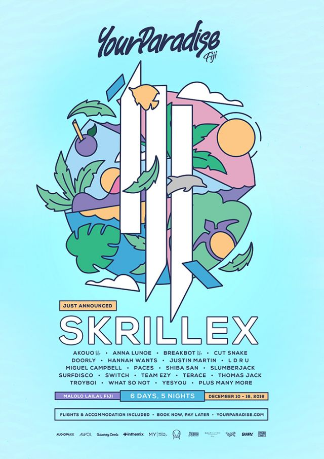 your paradise 2016 fiji lineup poster 2 supplied